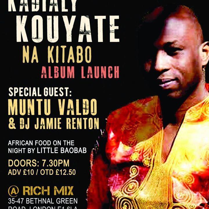 Kadialy Kouyate Tour Dates