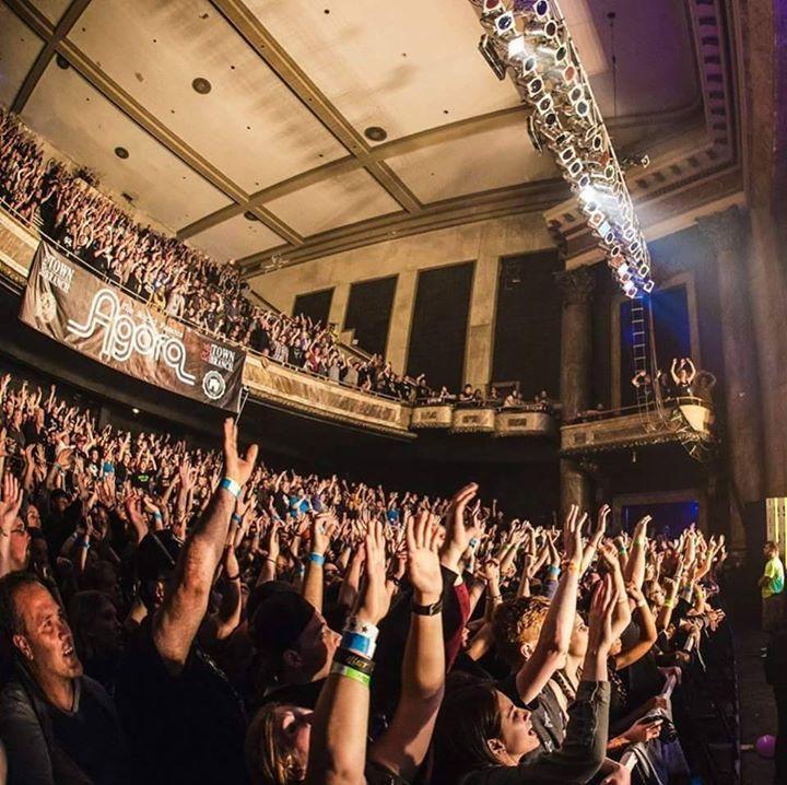 CLEVELAND AGORA Tour Dates
