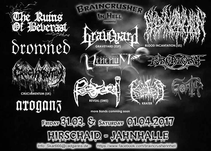 Goath @ Jahnhalle - Hirschaid, Germany