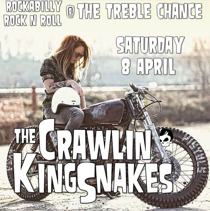The Crawlin' Kingsnakes @ Treble Chance  - Bristol, United Kingdom