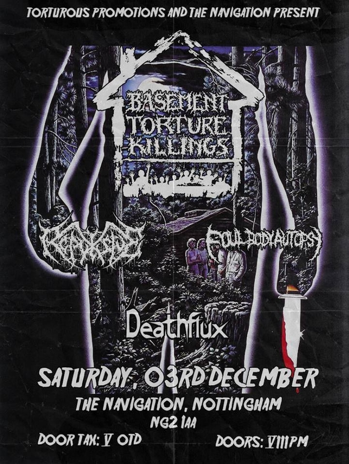 Deathflux @ The Navigation  - Nottingham, United Kingdom