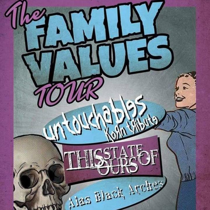 Untouchables (KoRn Tribute) Tour Dates
