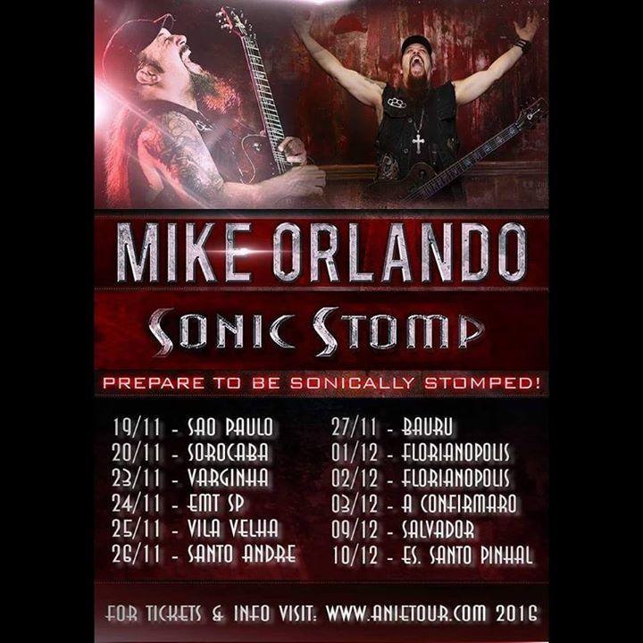 Mike Orlando - Fan Page Tour Dates