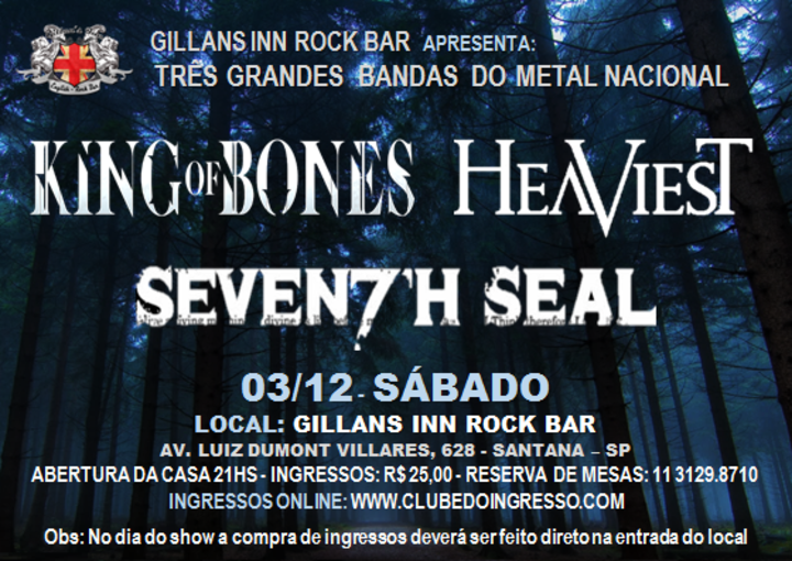 Heaviest @ Gillans Inn Rock Bar - Sao Paulo, Brazil