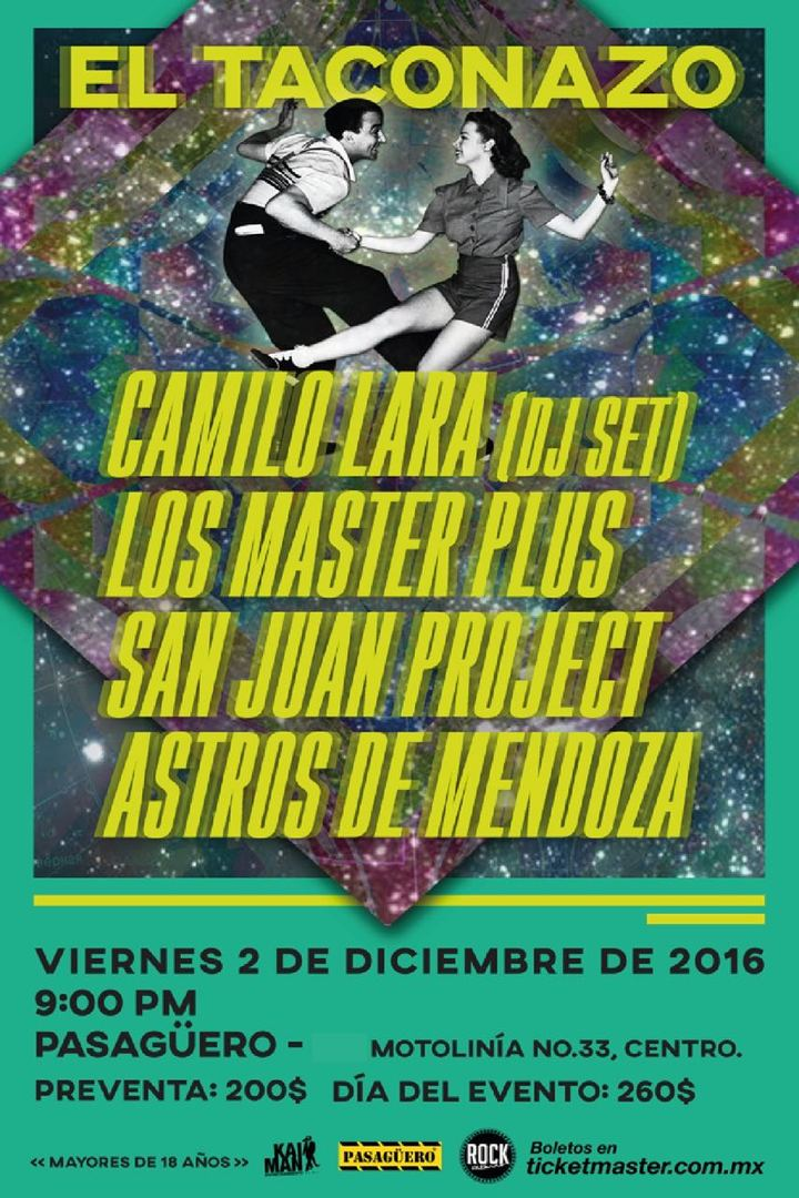 Los Master Plus @ Pasagüero  - Cuauhtémoc, Mexico