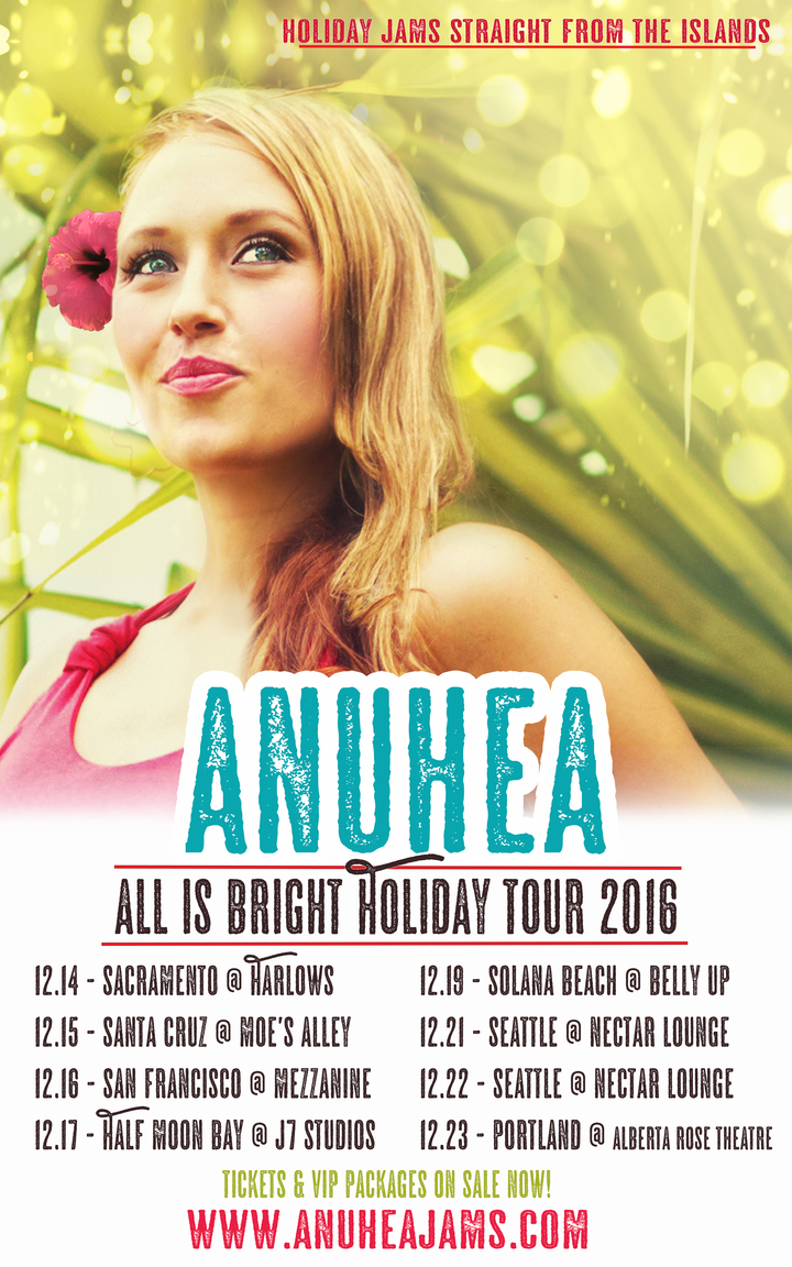 Anuhea @ Belly Up - Solana Beach, CA