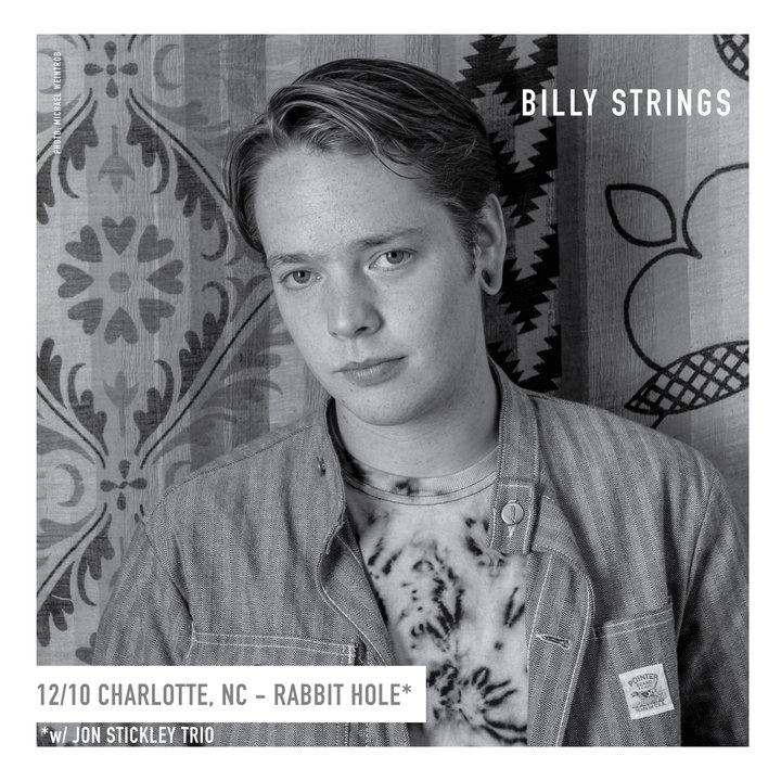 Billy Strings @ Rabbit Hole - Charlotte, NC