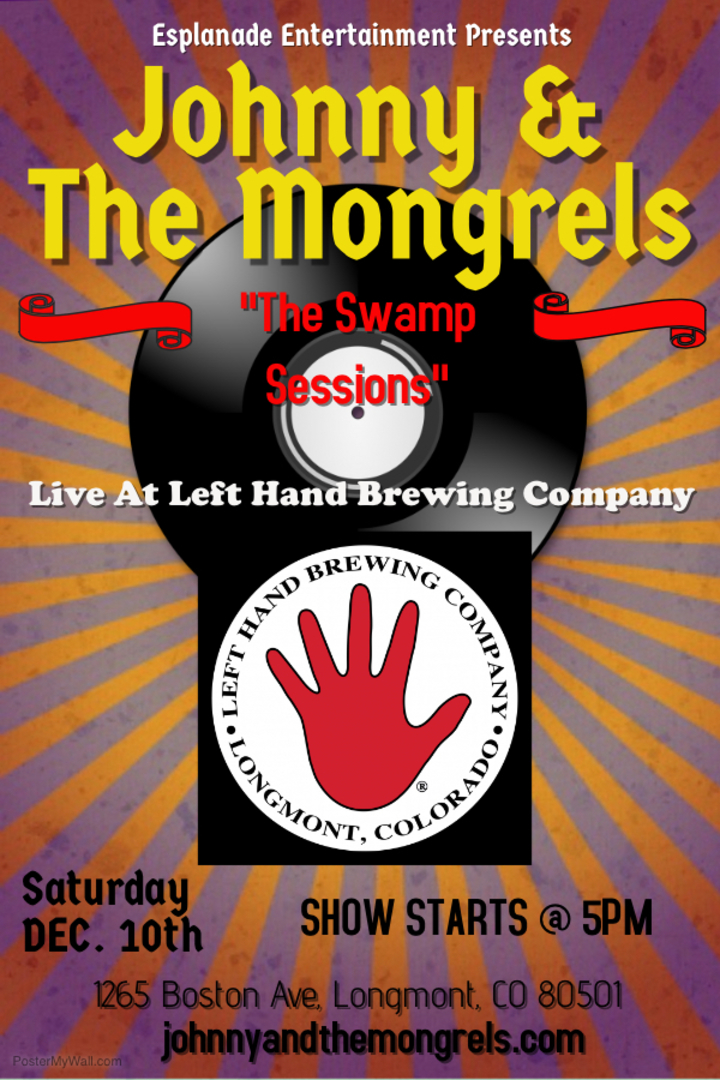 Johnny & The Mongrels @ Left Hand Brewing Co. - Longmont, CO