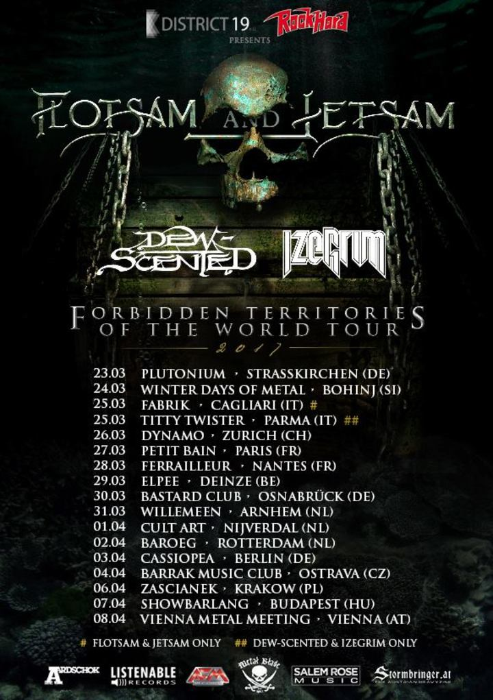 Flotsam and Jetsam Official @ Plutonium - Strasskirchen, Germany