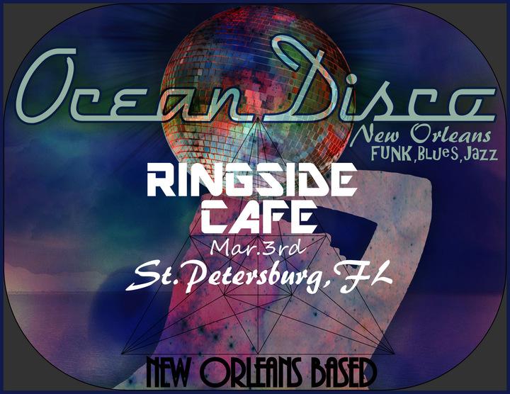 Ocean Disco @ Ringside Cafe - St Petersburg, FL