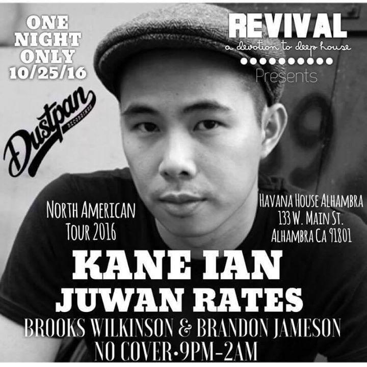 Kane Ian Tour Dates