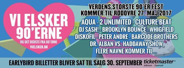 DJ Sash @ Vi Elsker - Rødovre, Denmark