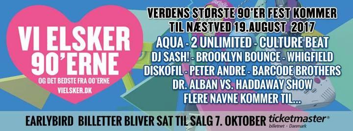 DJ Sash @ Vi Elsker - Næstved, Denmark