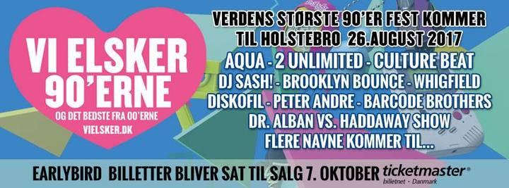 DJ Sash @ Vi Elsker - Holstebro, Denmark