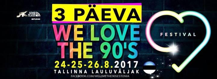 DJ Sash @ We Love The 90s - Tallinn, Estonia