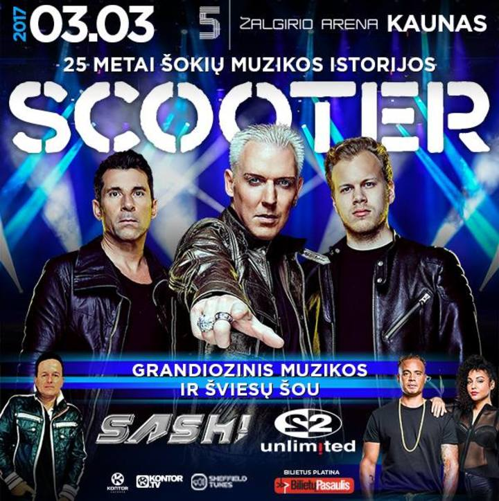 DJ Sash @ Zalgirio Arena - Kaunas, Lithuania