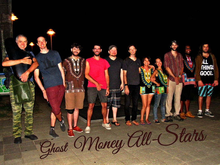 Ghost Money All-stars @ 顏氏牧場 - Nantou, Taiwan