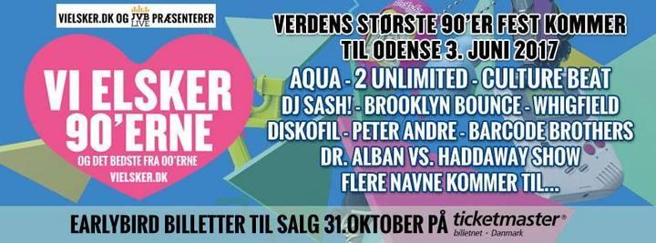 DJ Sash @ Vi Elsker - Odense, Denmark