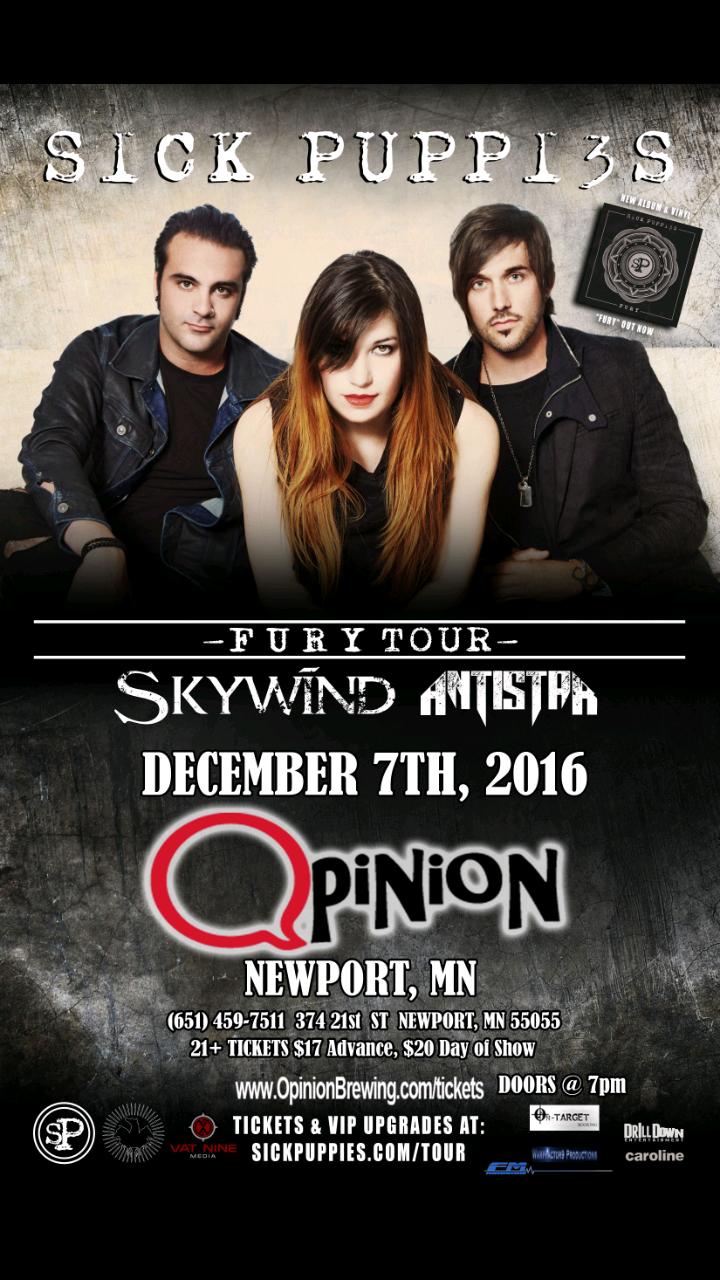 ANTISTAR @ Opinion  - Newport, MN