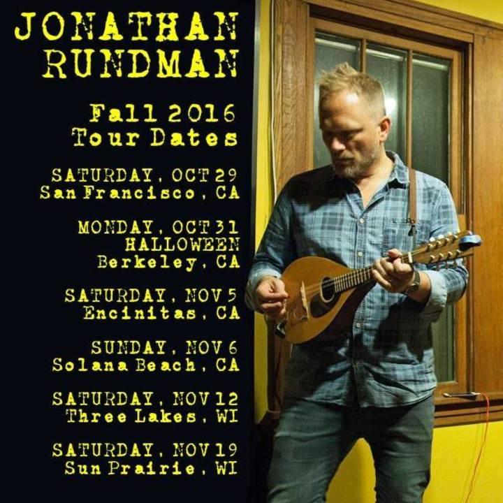 Jonathan Rundman Tour Dates