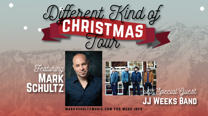 Mark Schultz @ A Different Kind of Christmas -       Unity Free Will Baptist Church  - Greenville, NC