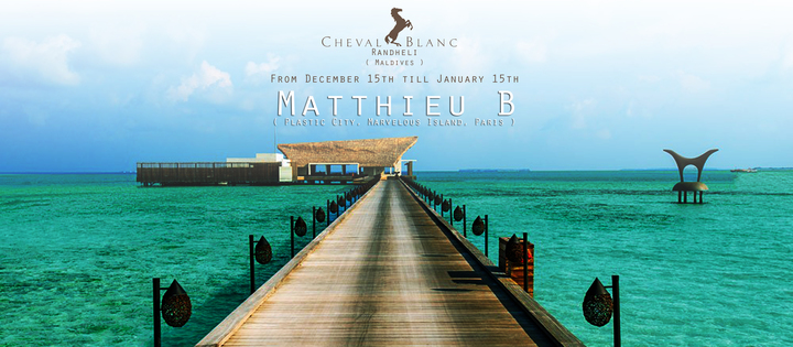 Matthieu B @ Cheval Blanc Randheli - Male, Maldives