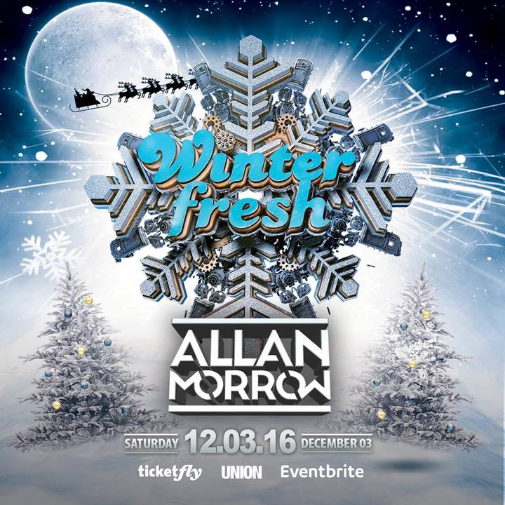 Allan Morrow @ Fresh Winter Festival - Los Angeles, CA
