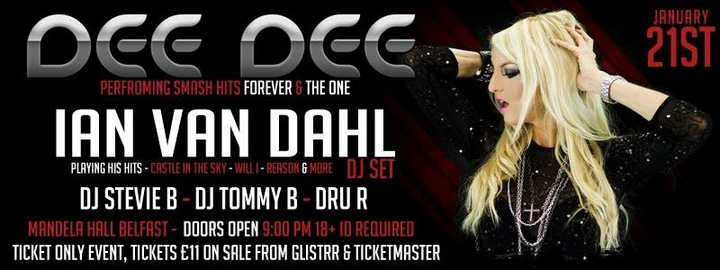 Dee Dee Official @ Mandela Hall  - Belfast, United Kingdom