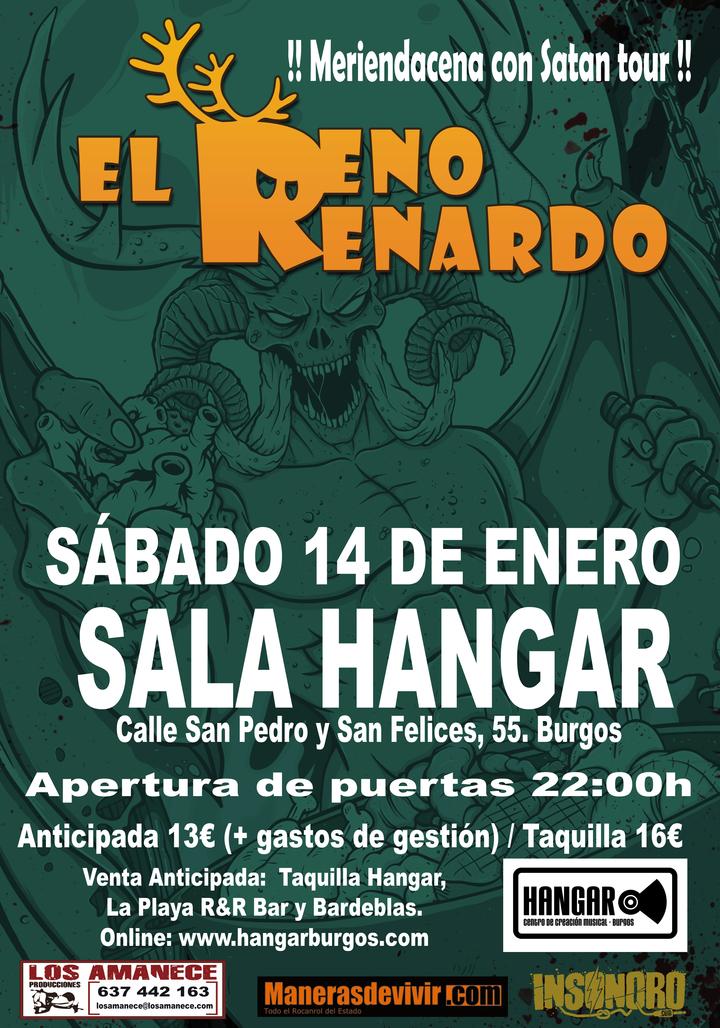 El Reno Renardo Oficial @ Sala Hangar - Burgos, Spain