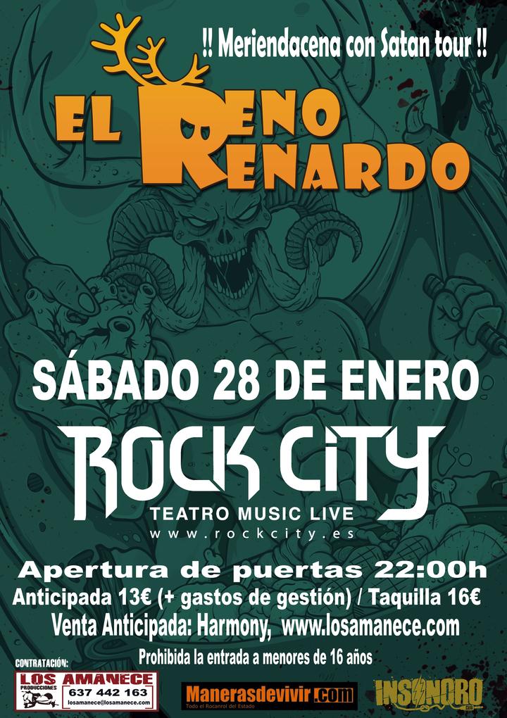 El Reno Renardo Oficial @ Sala Rock City - Valencia, Spain