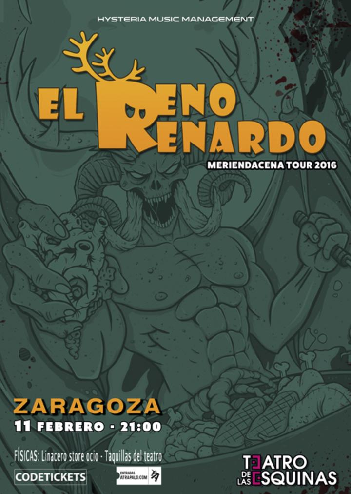 El Reno Renardo Oficial @ Teatro de las Esquinas - Zaragoza, Spain