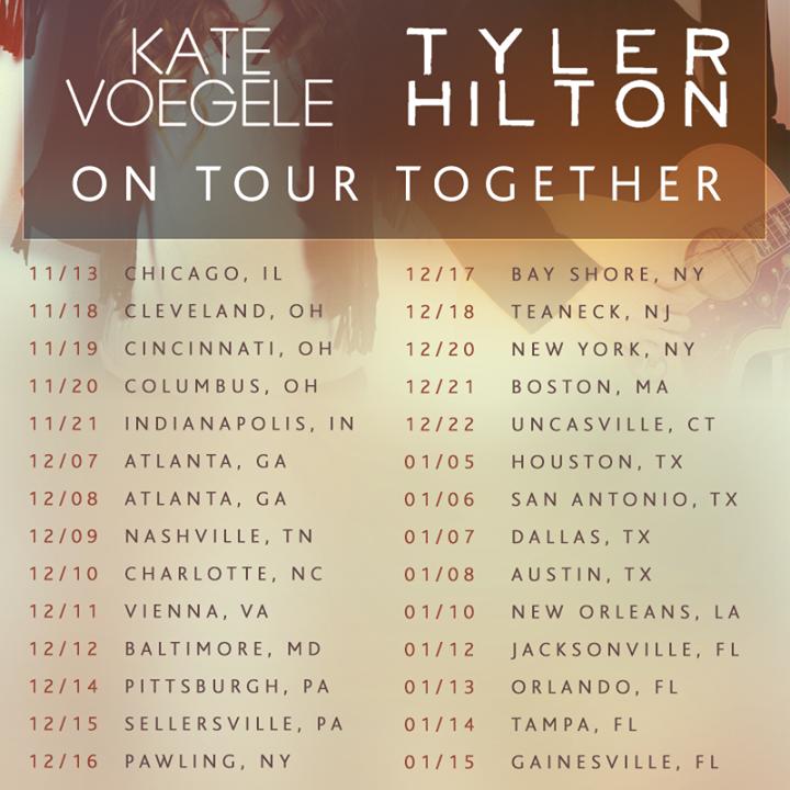 Tyler Hilton Tour Dates