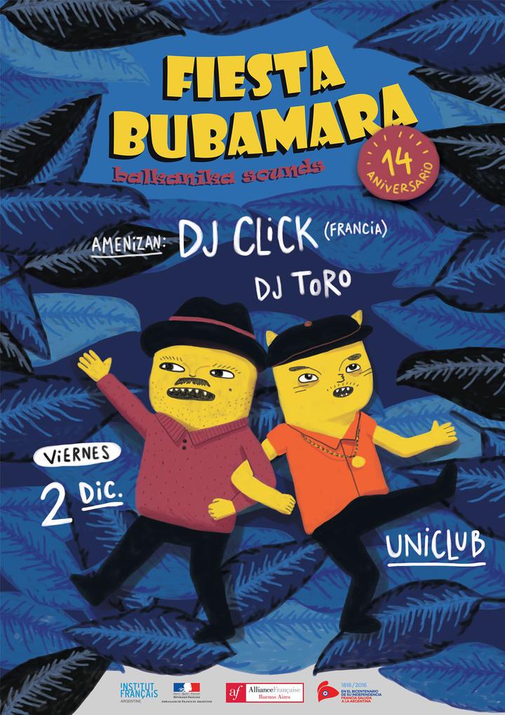 DJ ClicK @ Uniclub - Fiesta Bubamara - Buenos Aires, Argentina