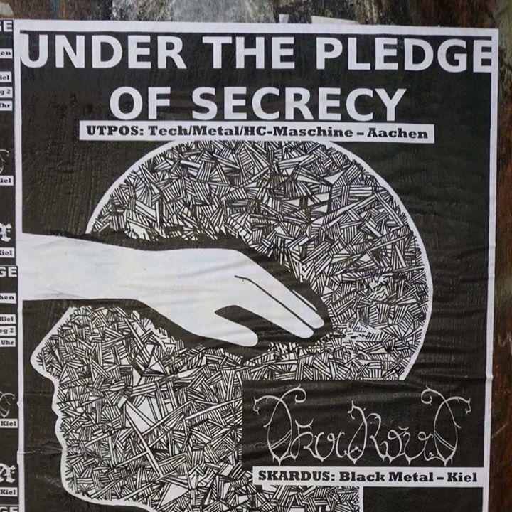 Under The Pledge Of Secrecy Tour Dates