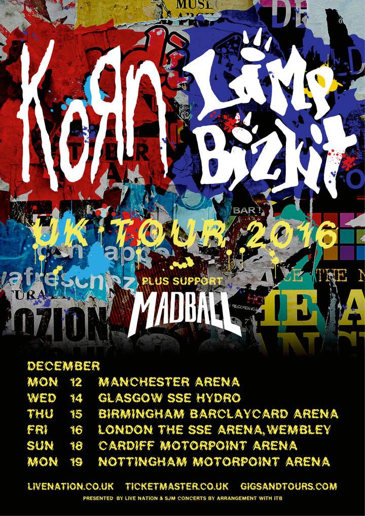 Madball @ Manchester Arena - Manchester, United Kingdom