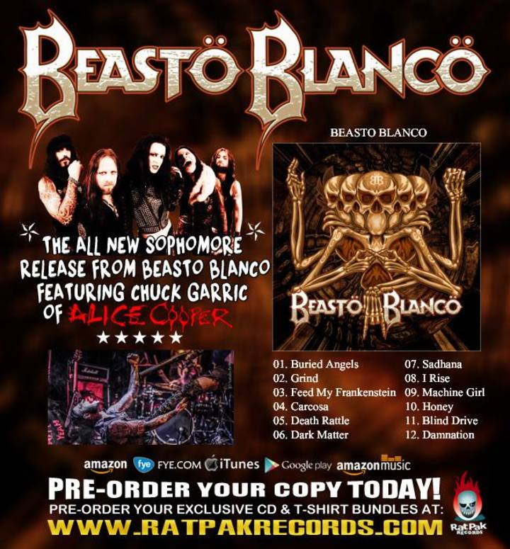 Beasto Blanco Tour Dates