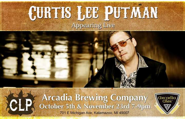 Curtis Lee Putman Tour Dates
