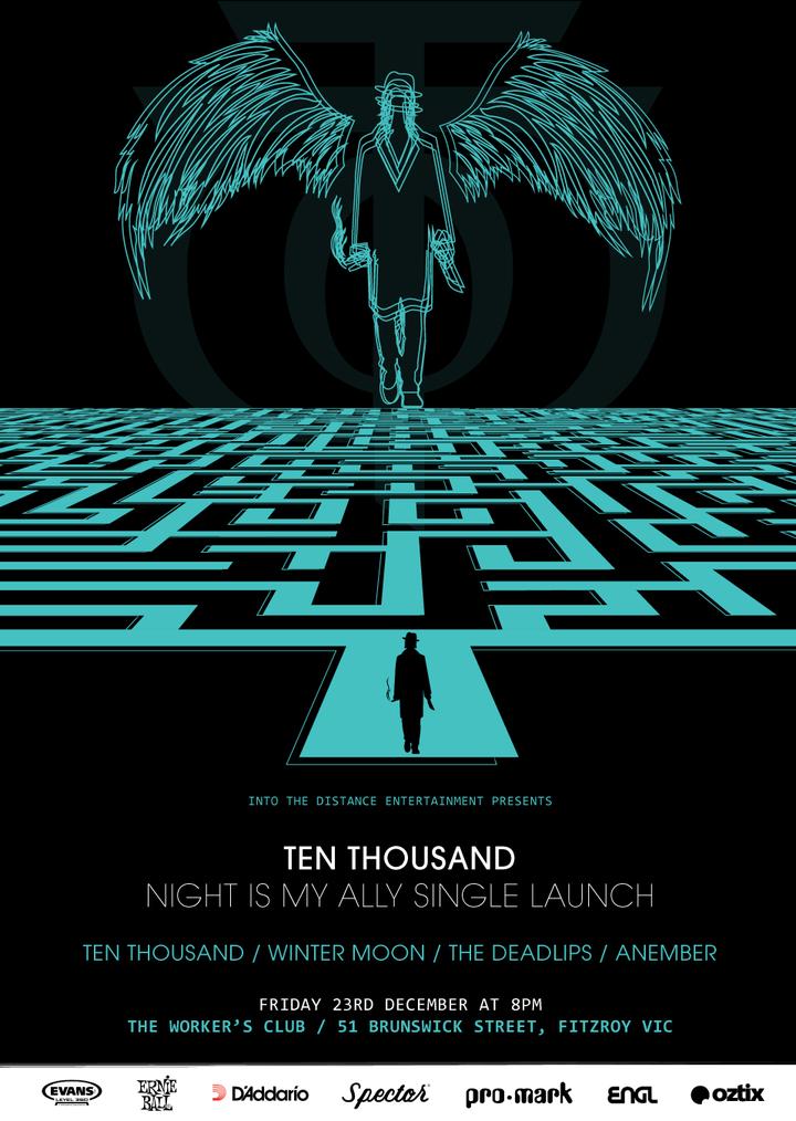 Ten Thousand @ The Workers Club - Melbourne, Australia