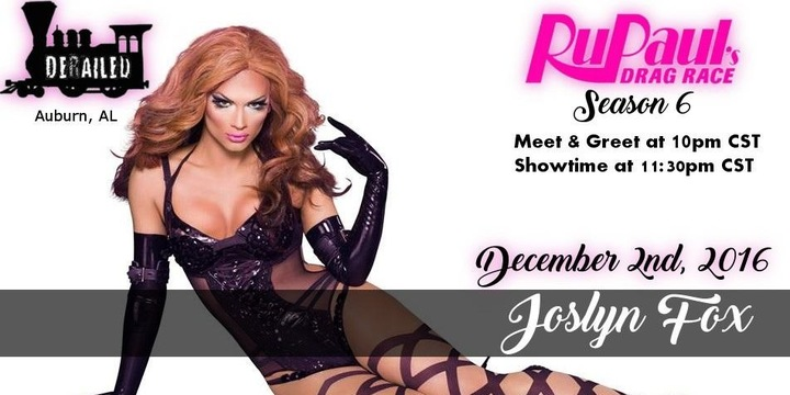 Joslyn Fox @ Derailed Bar & Grill - Auburn, AL