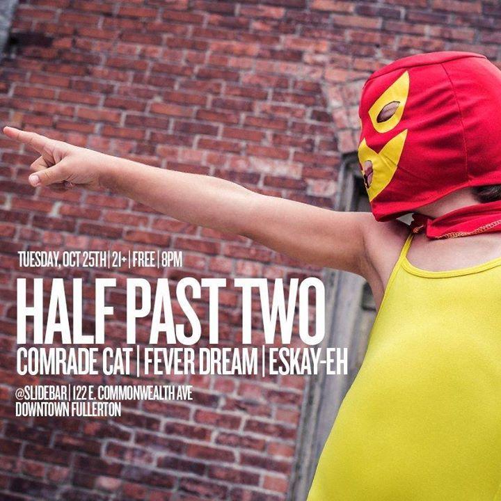 Half Past Two Tour Dates