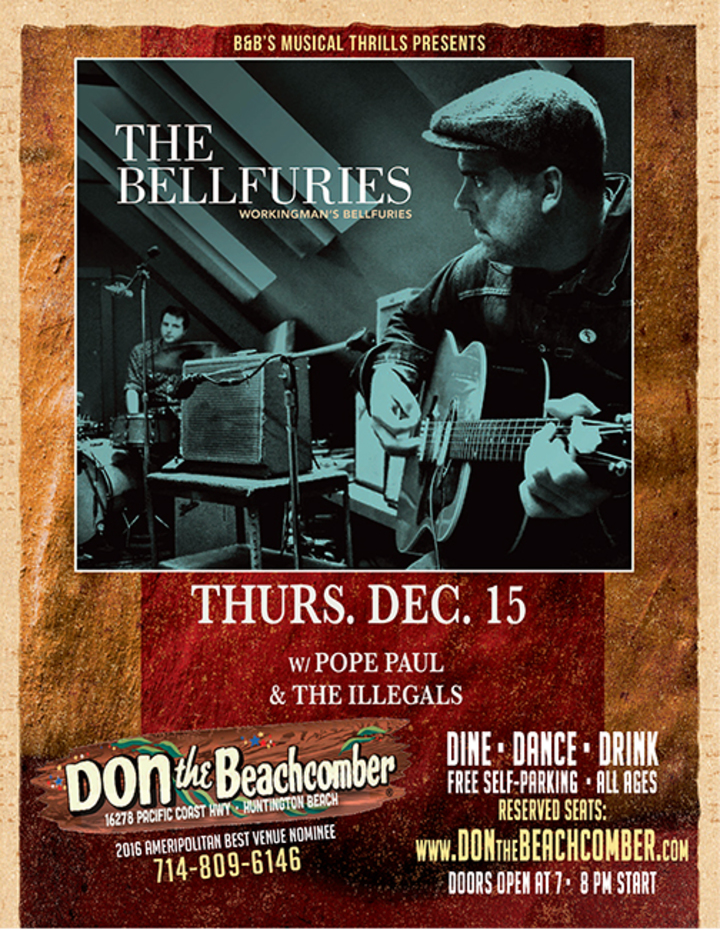 B&B's Musical Thrills at Don The Beachcomber @ Don The Beachcomber - Huntington Beach, CA