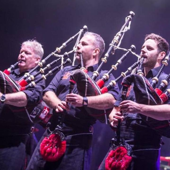 Red Hot Chilli Pipers @ Appowila Highland Games - Abtwil, Switzerland