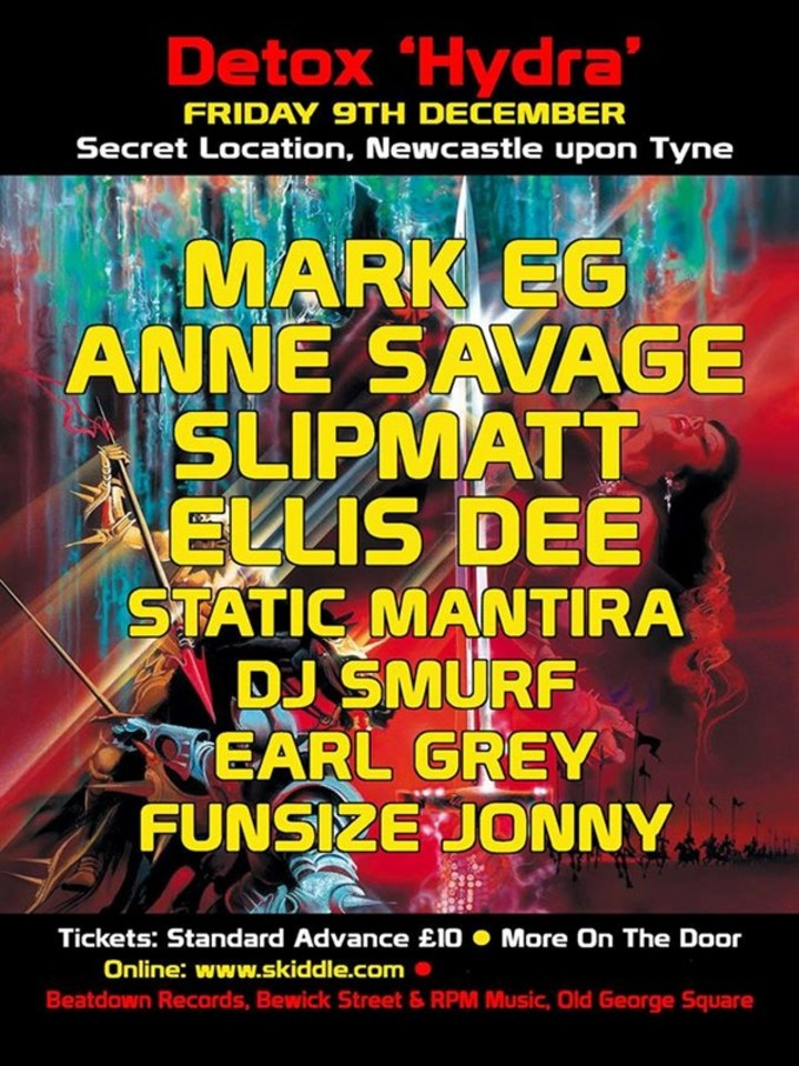 Slipmatt @ Secret Location - Newcastle, United Kingdom