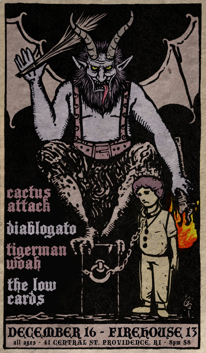 Diablogato @ Firehouse 13 - Providence, RI