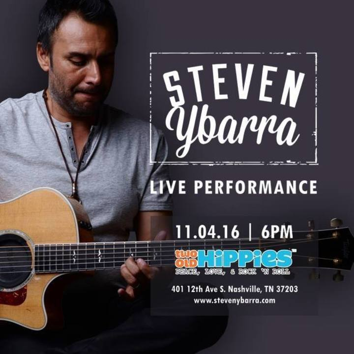 Steven Ybarra Tour Dates