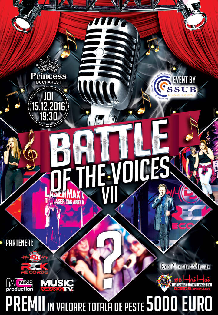 Battle Of The Voices @ Battle Of The Voices VII @ Princess Club - Bucuresti, Romania
