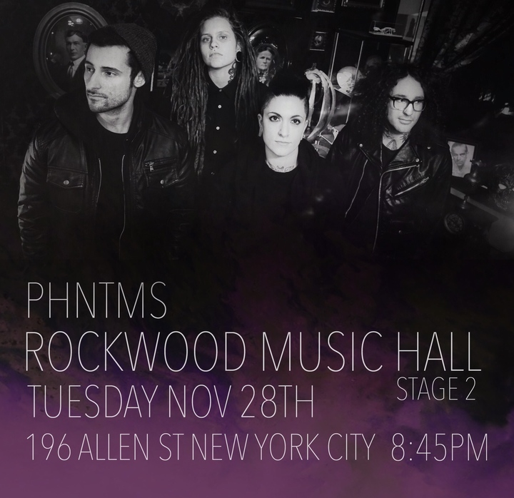 PHNTMS @ Rockwood Music Hall Stage 2 - New York, NY