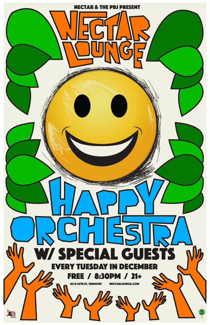 Happy Orchestra @ Nectar Lounge - Seattle, WA