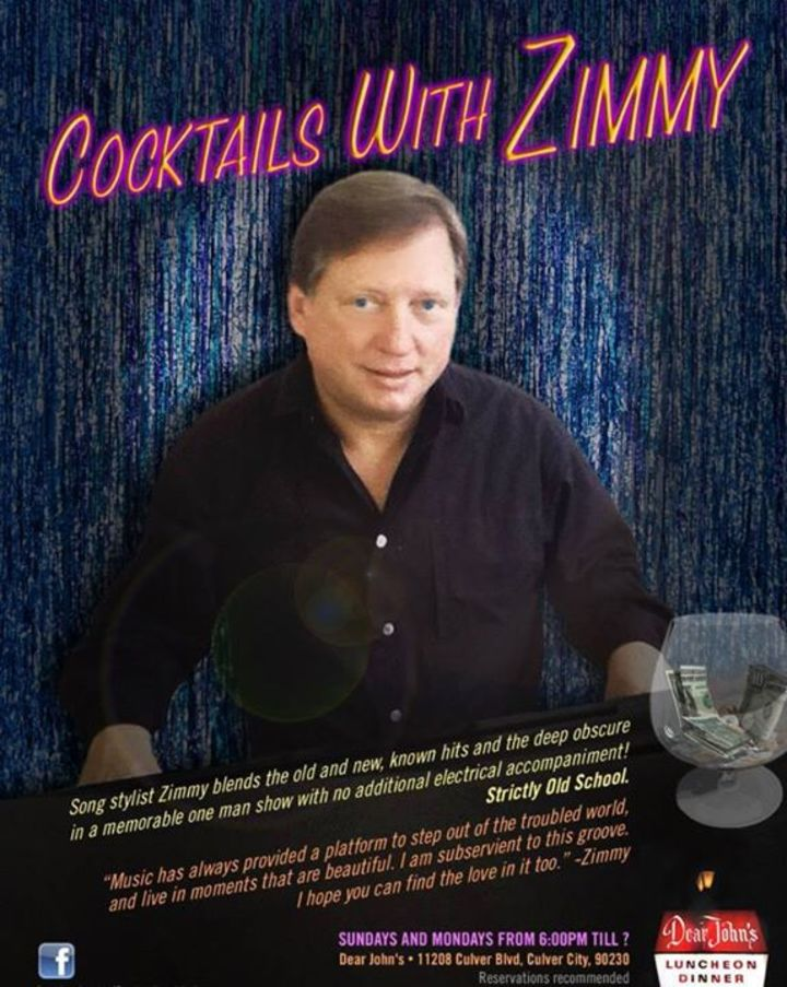 Cocktails With Zimmy Tour Dates