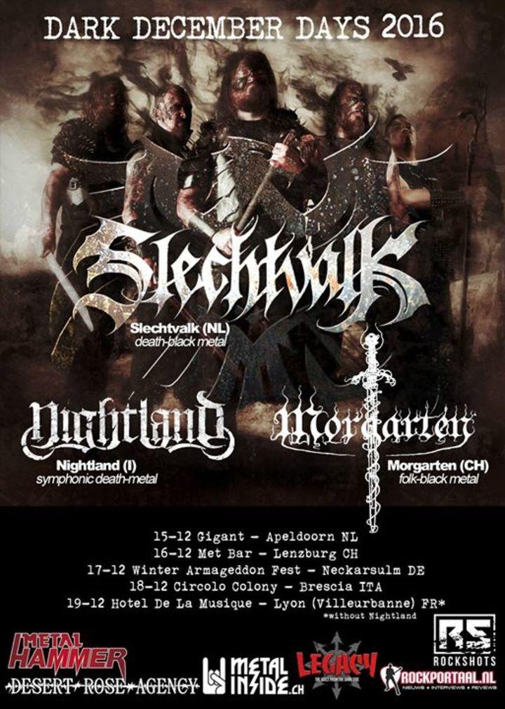 Nightland Tour Dates